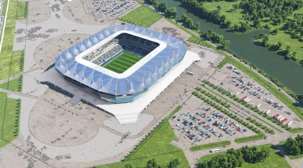 """Стадион """"Калининград"""""""