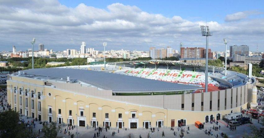 Стадион в Екатеринбурге к ЧМ-2018
