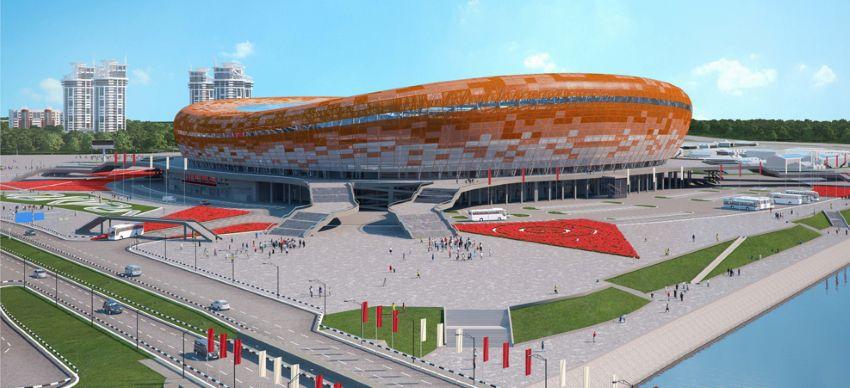 """""""Мордовия Арена"""" - стадион в Саранске к ЧМ-2018 по футболу"""
