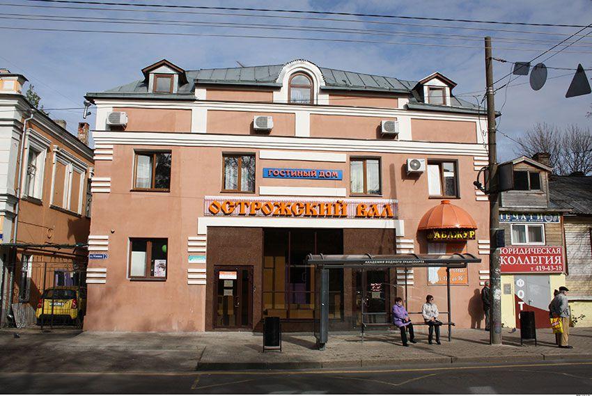 Гостиница Острожский вал в Нижнем Новгороде