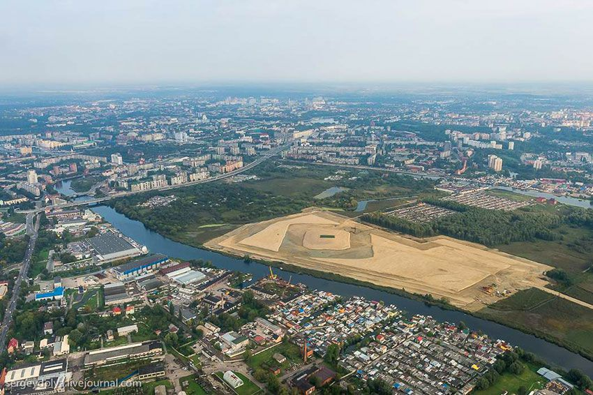 Как добраться до стадиона Калининград