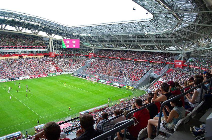 Казань Арена футбол 2018