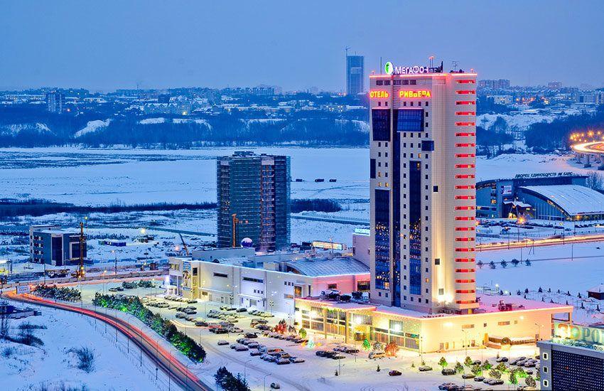 Казань гостиница Ривьера