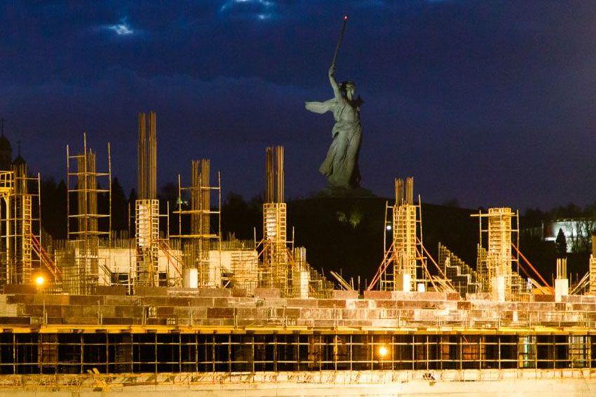 Расположение нового стадиона в Волгограде - адрес