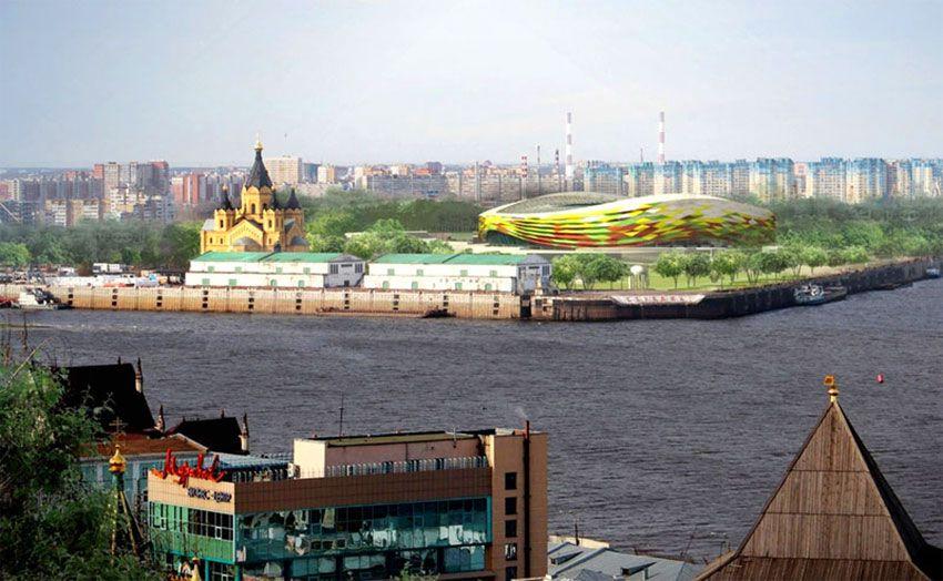 Стадион к ЧМ 2018 Нижний Новгород