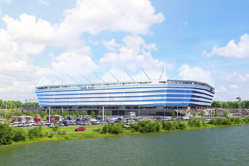 Фото футбольного стадиона в Калининграде ЧМ 2018 по футболу