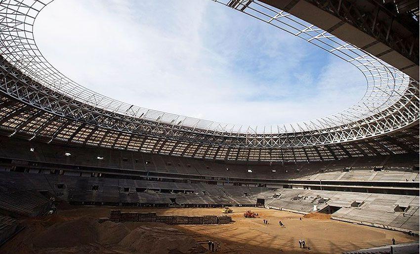 Строительство стадиона в Калининграде