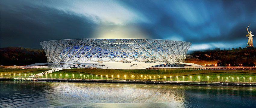 Фото стадиона Волгоград Арена - ЧМ 2018 по футболу