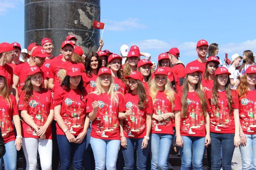 Волонтеры ЧМ-2018 года