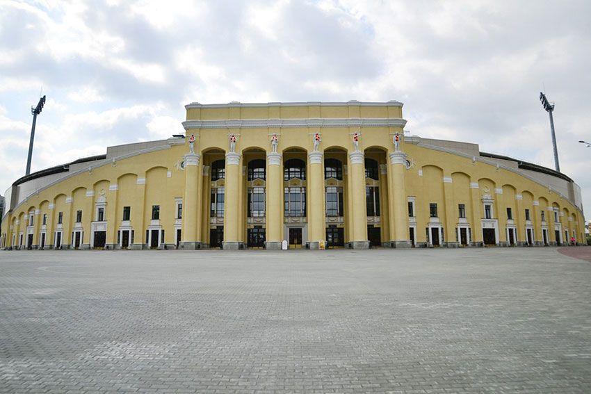 Центральный стадион в Екатринбурге