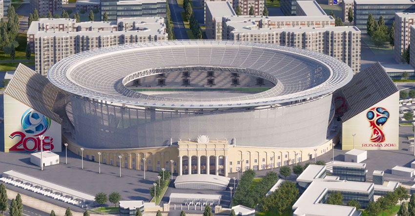 стадион Екатеринбург арена к чемпионату мира по футболу в 2018 году
