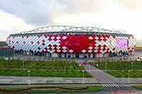 Футбольный стадион в Москве матчи