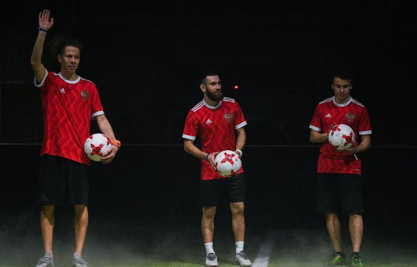 Презентация новой формы сборной России