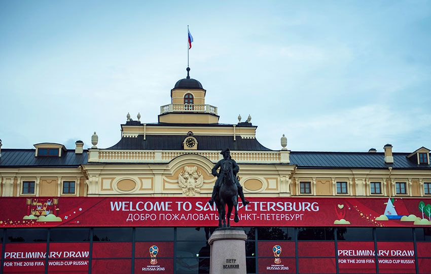 Санкт-Петербург готовится к ЧМ 2018