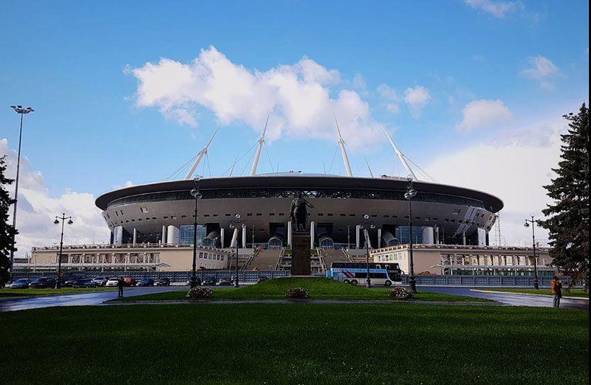 Санкт-Петербург новый стадион как доехать