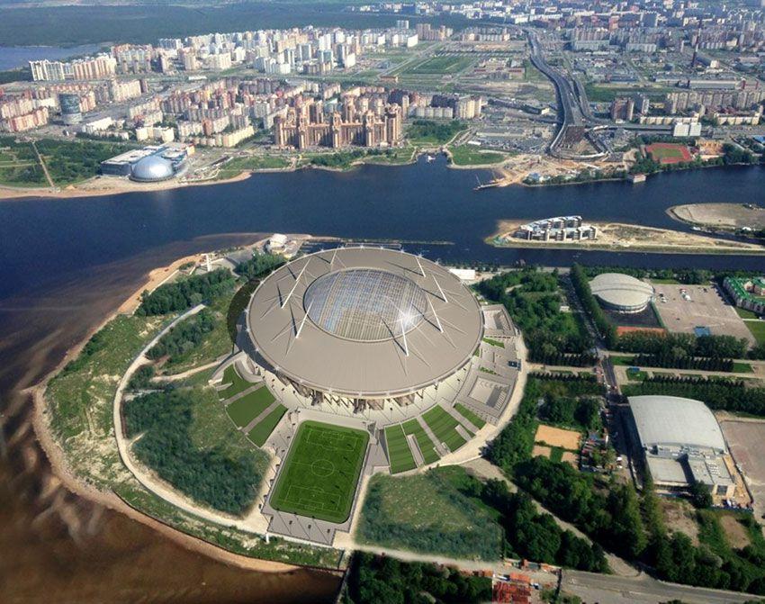 Санкт-Петербург новый стадион