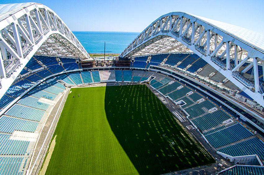 Сочи: фото стадиона Фишт - ЧМ-2018 по футболу