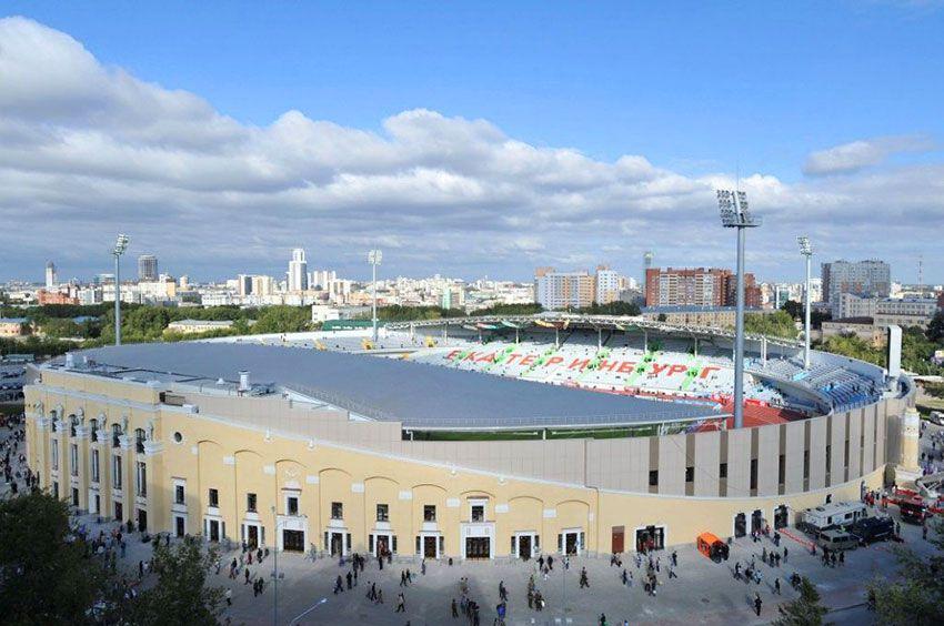 Стадион Екатеринбург к ЧМ по футболу 2018