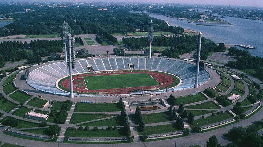 Стадион имени Кирова Петербург