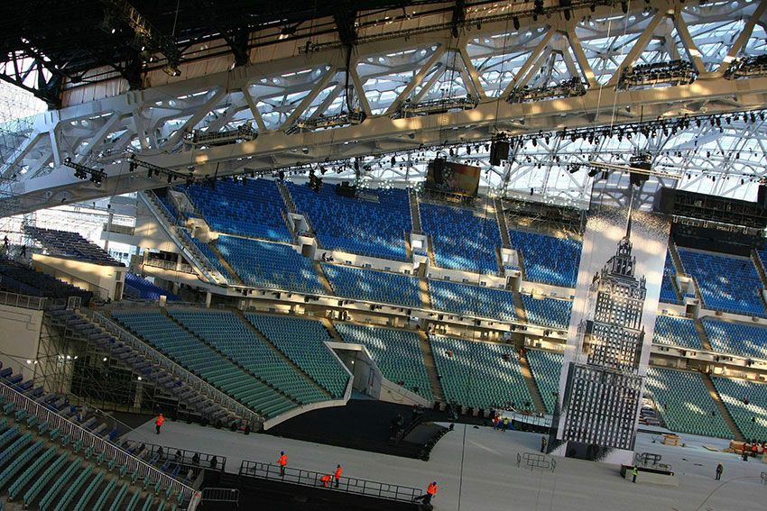Стадион к ЧМ 2018 в Сочи