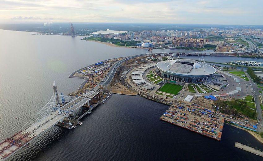 Стадион на Крестовском в СПб как доехать