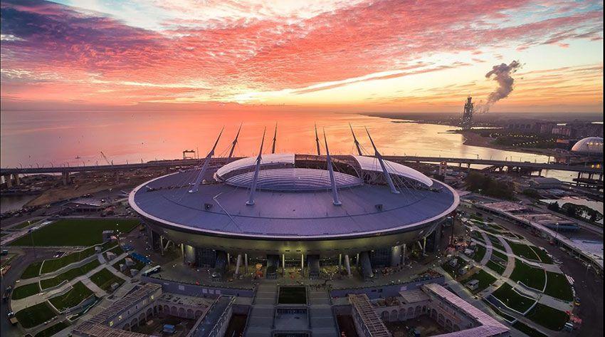 Стадион на Крестовском в СПб - Петербург
