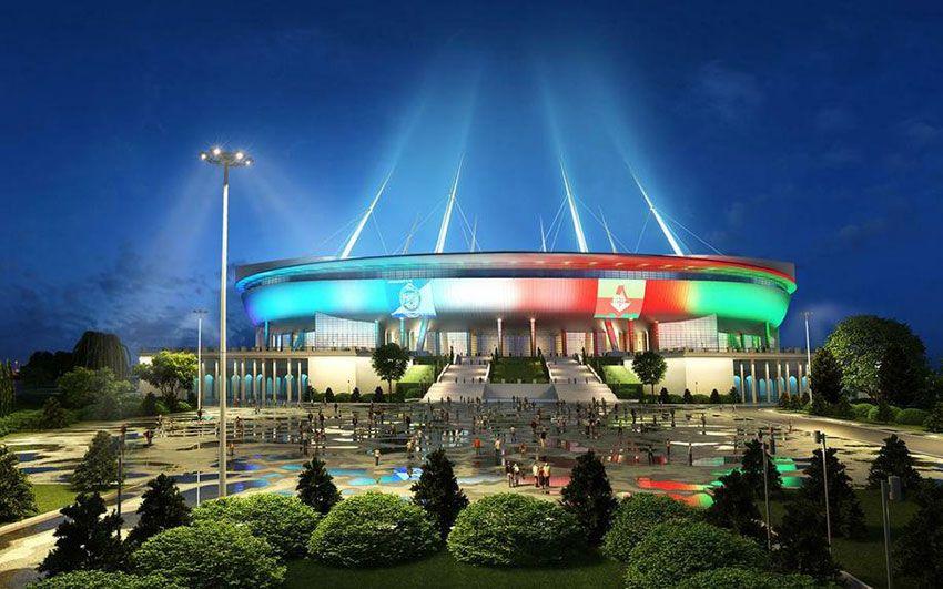 Стадион на Крестовском в Санкт-Петербурге