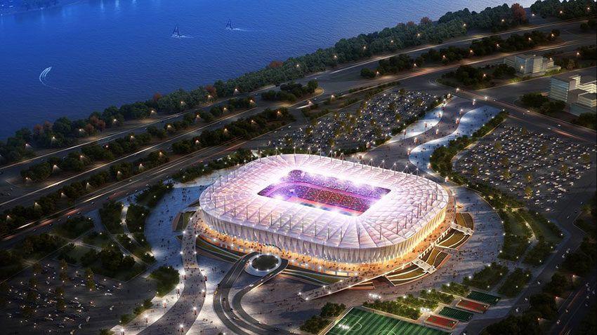 Стадион Ростов Арена ЧМ по футболу 2018