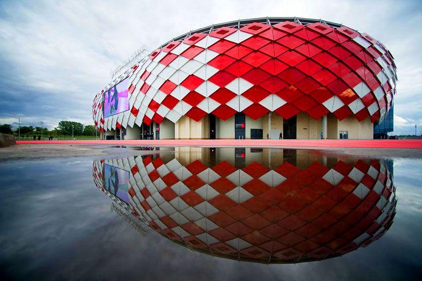 Стадион в Москве к ЧМ по футболу 2018