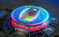 Стадион в Питере Крестовский