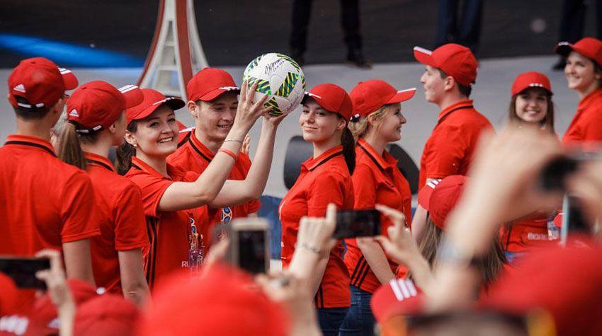 Волонтеры в Москве 2018
