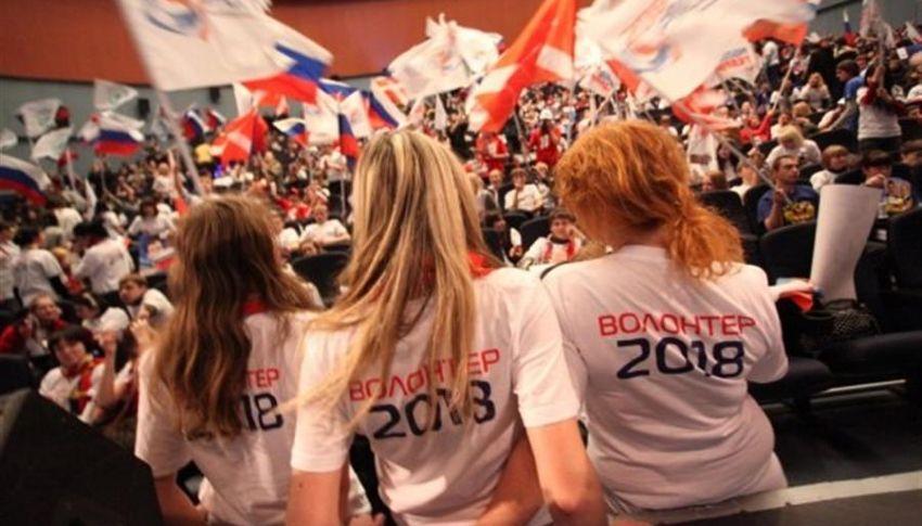 Волонтеры в Калининграде