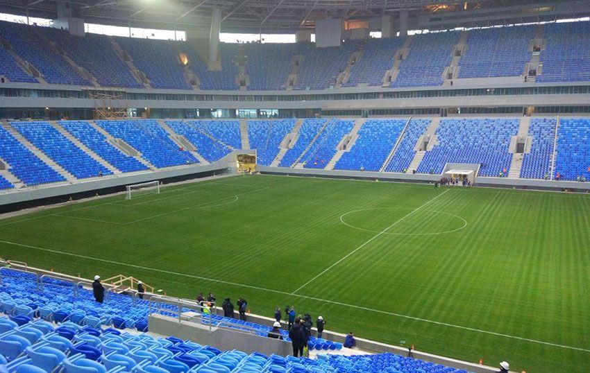 Зенит Арена Санкт Петербург