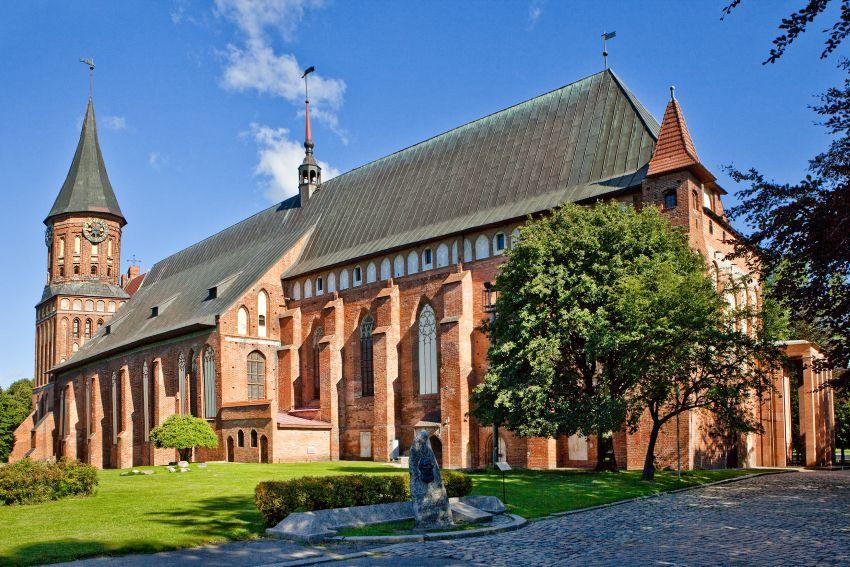 Кафедральный собор в Калининград - достопримечательности города