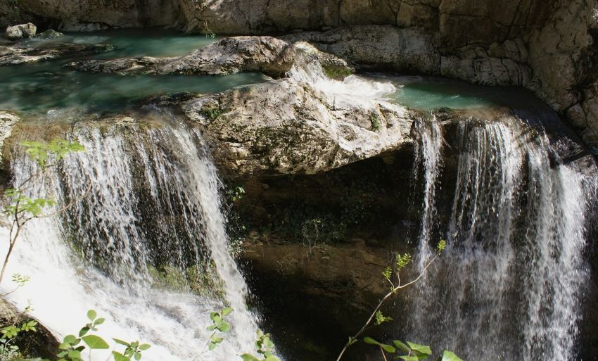 Агурские Водопады, Сочи - фото