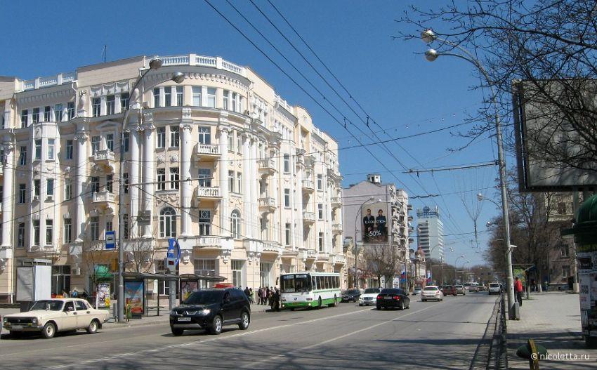 Большая Садовая в Ростове-на-Дону