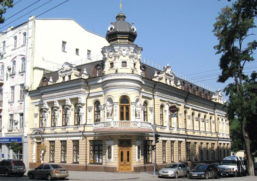Дом Маргариты Черновой в Ростове-на-Дону