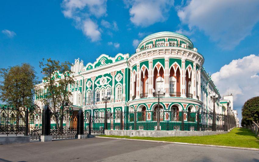 Дом Севастьянова - достопримечательность в Екатеринбурге - что можно посмотреть