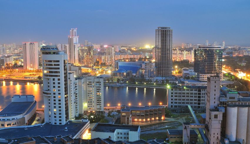 Достопримечательности Екатеринбурга - фото ночного города, описания и названия, адреса на карте