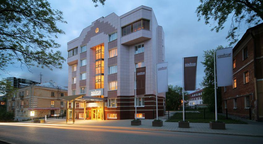 Гостиница Сенатор в Екатеринбурге