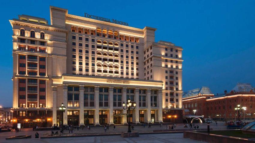 Гостиницы в центре Москвы