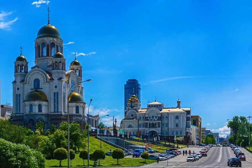 Храм на крови во имя Всех Святых в Екатеринбурге