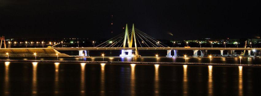 """Мост """"Миллениум"""" в Казани"""
