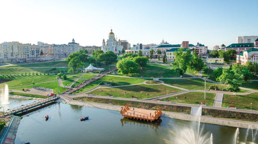 Саранск - столица Мордовии - достопримечательности города, фото и название