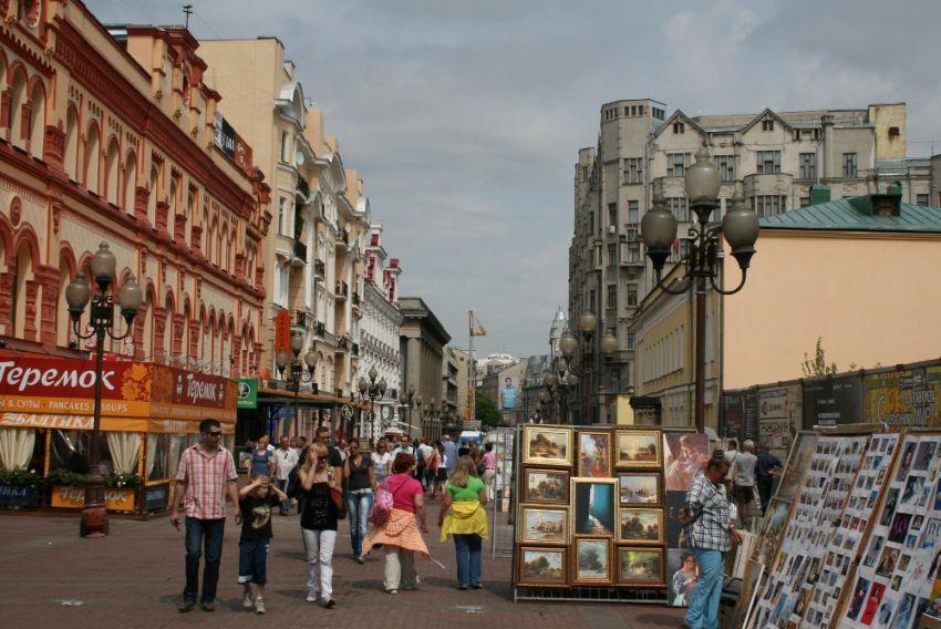 Старый Арбат - достопримечательность в Москве