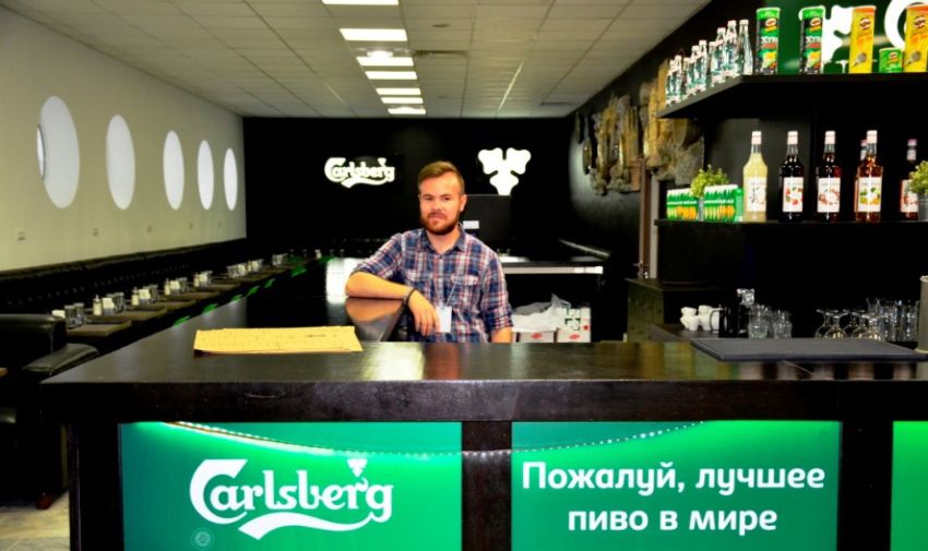 """Спорт-бар """"Карлсберг"""" в Екатеринбурге"""