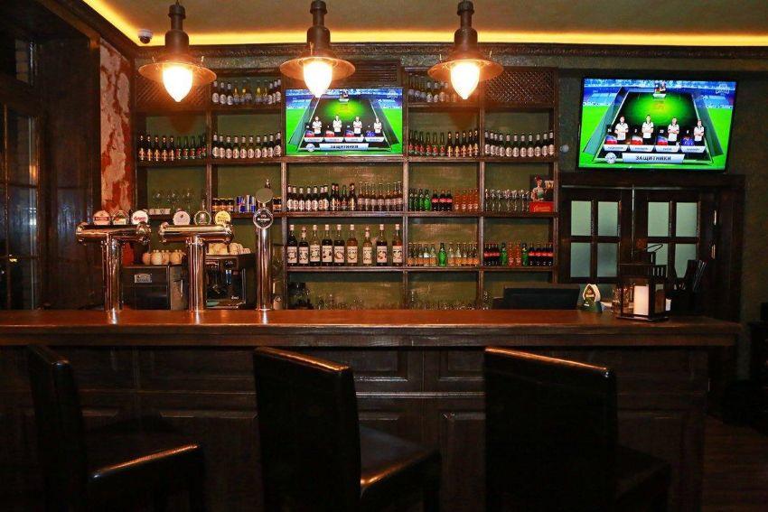 Спорт-бары в Москве - фото спортивного бара