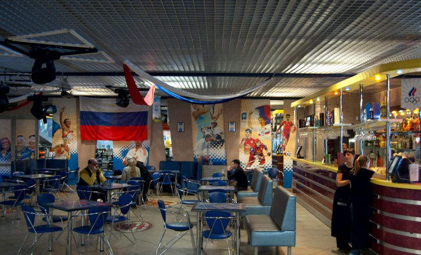 Спорт-бары в Волгограде - фото спортивного бара