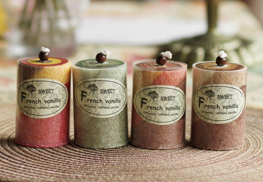 ароматические свечи в подарок на Новый 2018 год