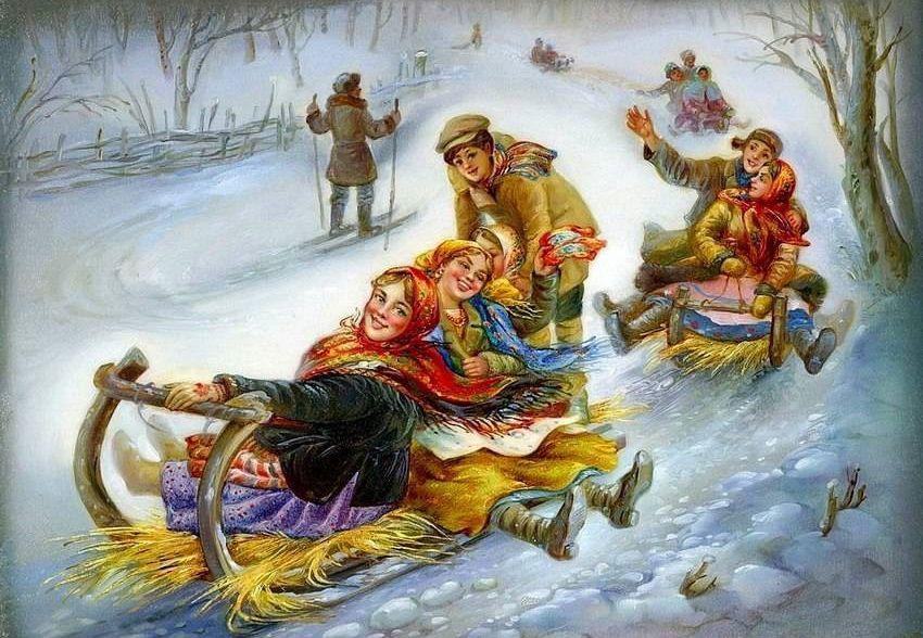 когда празднуются рождественские Святки в 2018 году - начинаются 6 и заканчиваются 19 января